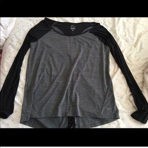Nike long sleeved